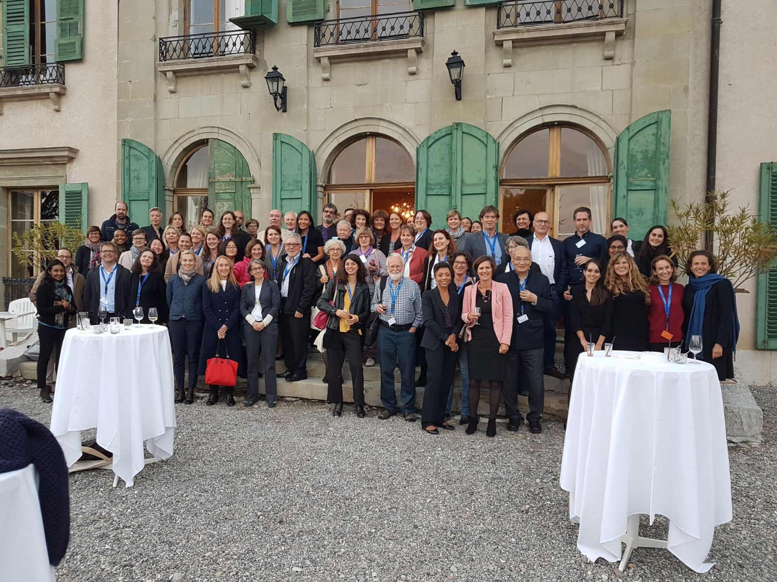 Teilnehmer 25. Jahrestagung ISS/IRC in Genf
